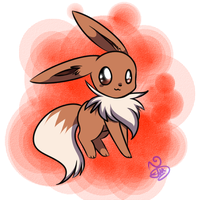EEVEE by NightBlueMoon