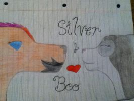 For Silver and Boo by Snow-Feather1203