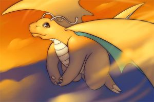 dragonite by Suguro