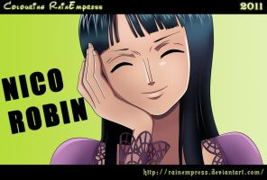 Nico Robin Thriller Bark by RainEmpress