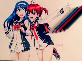 Vividred WIP Operation ^^ by joseluis81