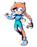 Sonic boom!Lily by xXLily-n-CookiesXx