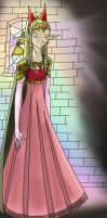 Princess Zelda--colored by Miyako13Lee