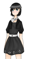 Human ver. of Fire-Loup's OC Blossom by NanoCodes