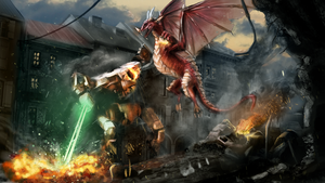 Dragon Outbreak by SuurFett