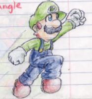 luigi by Sktchman