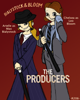 Ari and Chels as The Producers by R2ninjaturtle