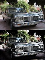 before after chevy impala by omerfarukciftci