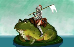 The Toad Knight by ACicco