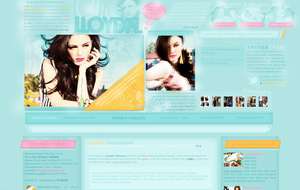Cher Lloyd layout by sweetkowa