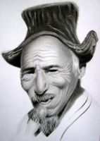 Old man pencil by Vladimir12908