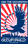 OccupyPhilly - Eagle 1 by luvataciousskull