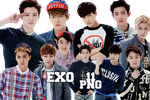 EXO's PNG Pack {SMTOWN IV Goods} by kamjong-kai
