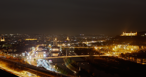 Wuerzburg West At Night by a-l-e-x-x