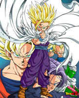 DRAGON BALL Z by PhazeN1