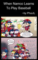 When Namco play baseball XD by PhuiJL