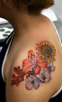 flowers by Phedre1985