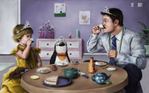 The Tea Party by JessicaEdwards
