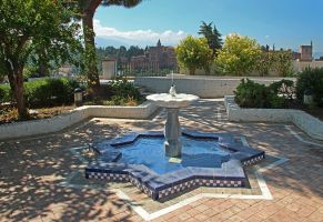 Fountain With Star-Basin - Granada by AgiVega