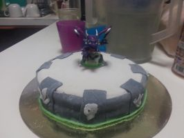 Portal Of Power Cake by NickyW093