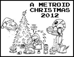 A Metroid Christmas 2012 by Dungeonhordes