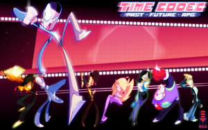 [ILLUSTRATION] TIME CODEC CAST by MikeSouthmoor