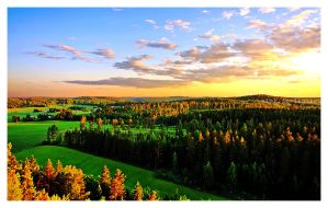 Finnish Landscape by XiPi
