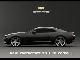 Black Camaro Concept Ad by Alpha1dash1