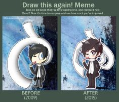 Draw this again meme by Ezkai