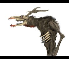 Wendigo by SwarmCreator