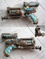 Nerf Maverick Steampunk Mod by aimeekitty