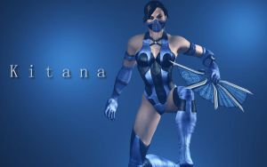 Kitana Right Weapon by Rastifan