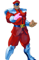 M.Bison by Stitchking83