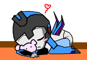 sleeping baby Thundercracker ^_^ by hotshotgirl