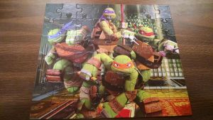 Ninja Turtles Puzzle (2) by FunZoneGallery12