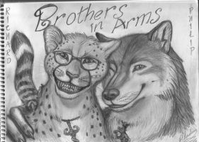 Brothers in Arms by Hazelwolf