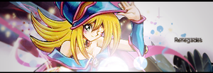 Dark Magician Girl Signature by andrew-pvs