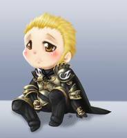 Chibi Judge Gabranth by roseannepage