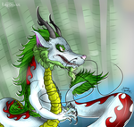 Japanese Dragon: Redraw by Ruby-Orca-616