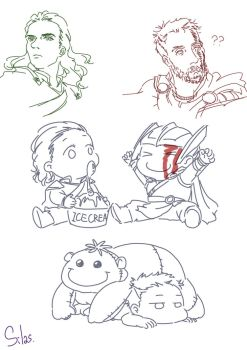 Thor Ragnarok: just for fun by SilasSamle