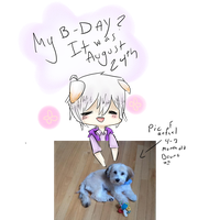 Bruno's B-day~ by estarflame