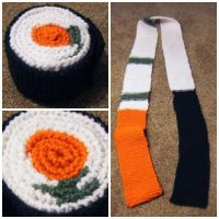 Sushi Scarf by eatsoupwithsticks