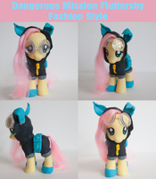 Dangerous Mission Fluttershy Custom Fashion Style by alltheApples