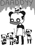 why pandas don't have kids. by pugboots