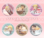 CF2013 Merch - SNK Badge by lazendar
