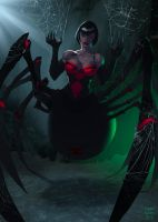 SpiderWitch color by UltimateRubberFool