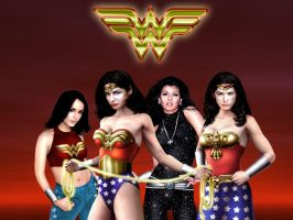 Wonder Women by tempestph