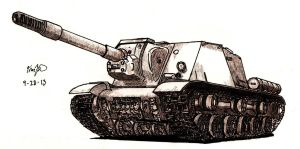 ISU-152 by TimSlorsky