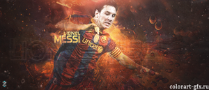messi by colorart-gfx
