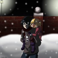 Death Note: A Stroll in the English Snow by itanatsu-chan